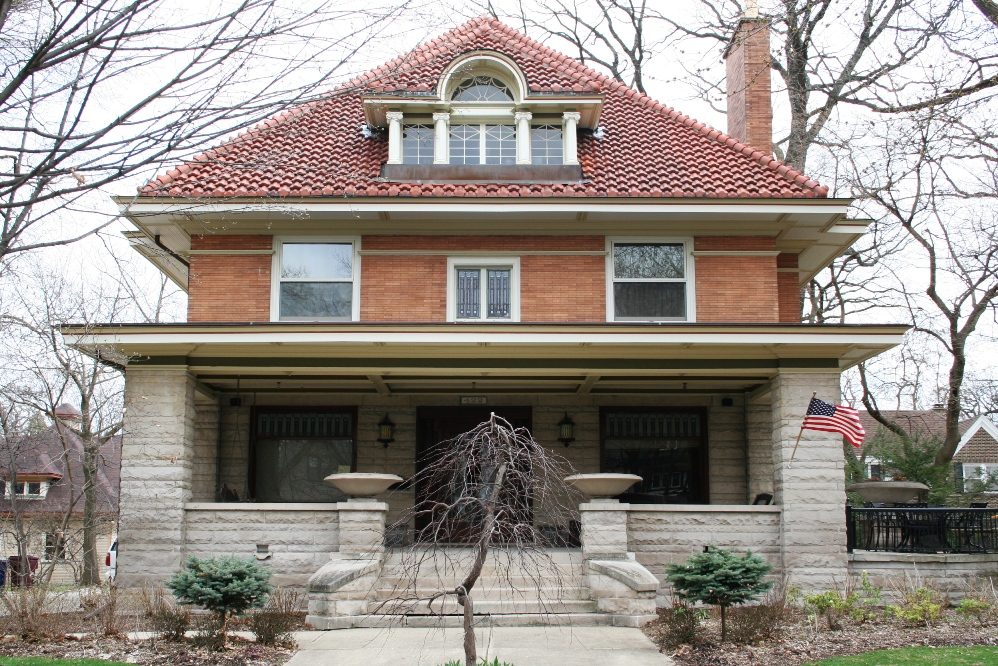 Prairie and foursquare architectural styles of america for Architectural styles of american homes