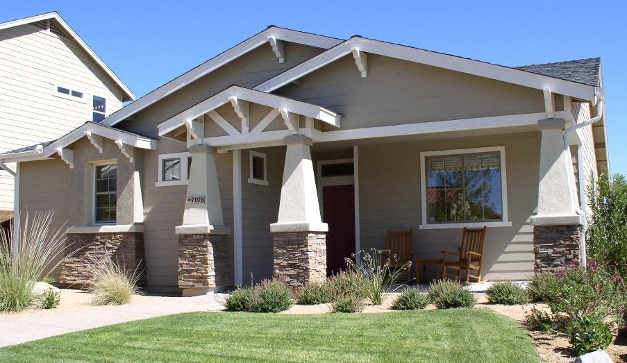 Residential architectural styles of america and europe for Craftsman style architects