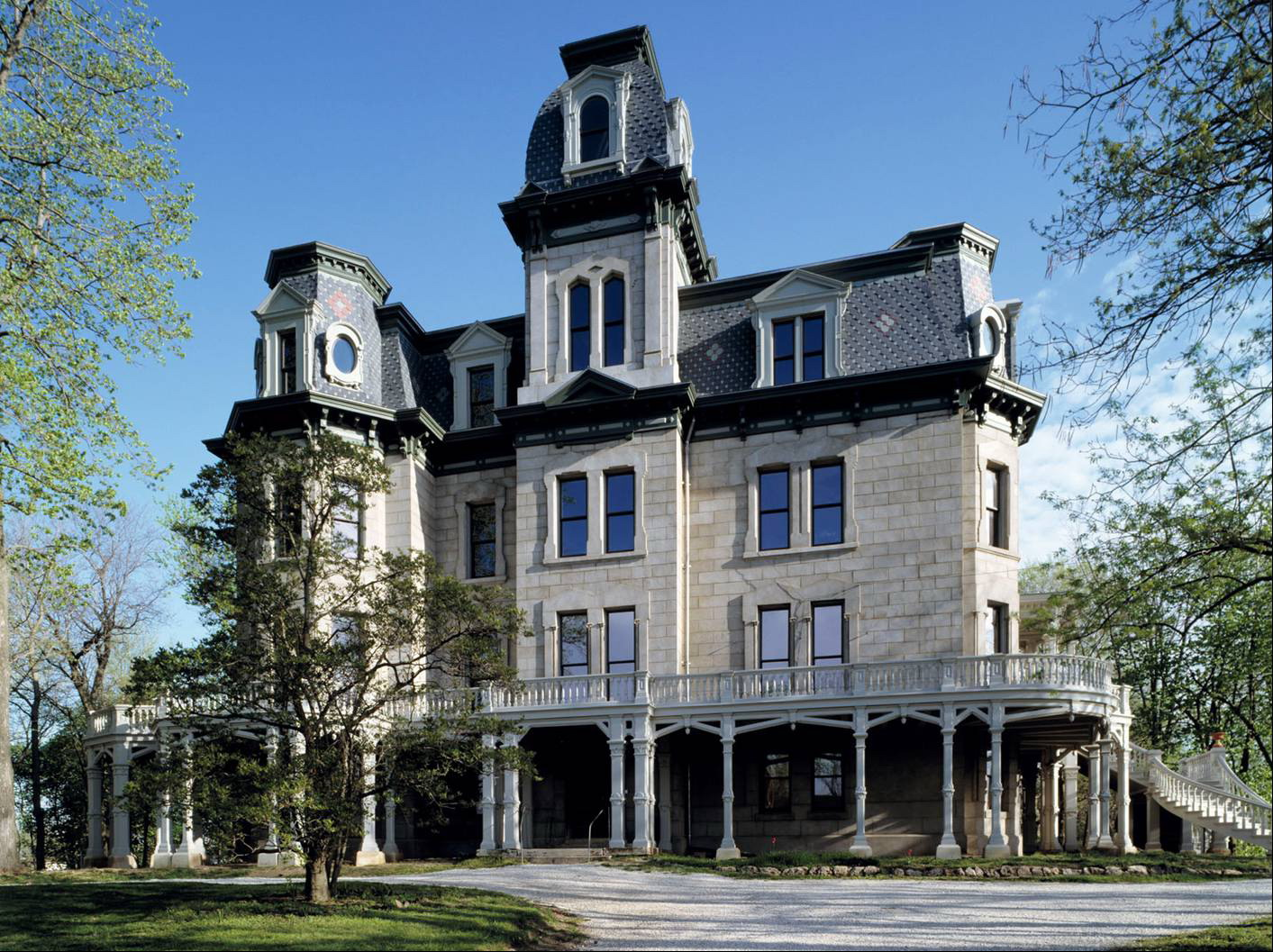 Second empire architectural styles of america and europe for Victorian home construction